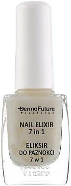 Подхранващ еликсир за ноктите 7в1 - Dermofuture Precision Nail Elixir 7in1 — снимка N3