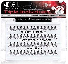 Парфюми, Парфюмерия, козметика Комплект мигли на снопчета - Ardell Triple Individual Long Black