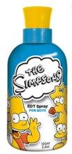 Парфюмерия и Козметика Marmol & Son The Simpsons for Boys - Тоалетна вода (тестер без капачка)
