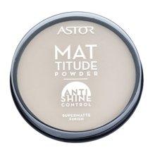 Парфюмерия и Козметика Матираща пудра за лице - Astor Mattitude Anti Shine Powder
