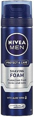 """Овлажняваща пяна за бръснене """"Класическа"""" - Nivea For Men Shaving Foam — снимка N1"""