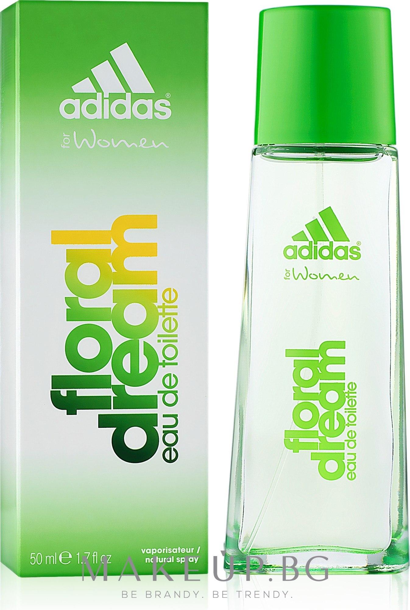 Adidas Floral Dream - Тоалетна вода — снимка 50 ml