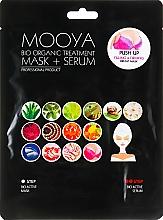 """Парфюмерия и Козметика Маска + серум """"Грижа за бюста"""" - Beauty Face Mooya Bio Organic Treatment Mask + Serum"""