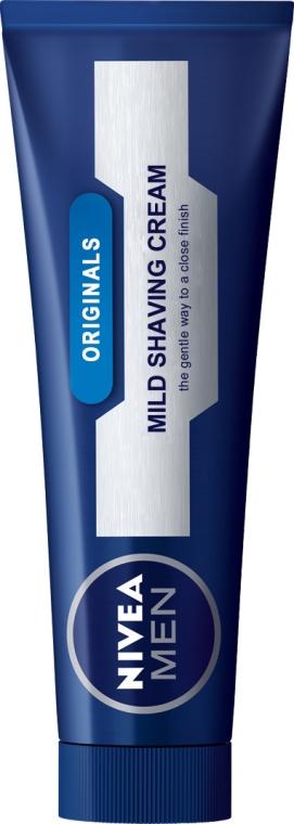 """Крем-балсам за бръснене """"Класичеки"""" - Nivea For Men Mild Shaving Cream — снимка N1"""