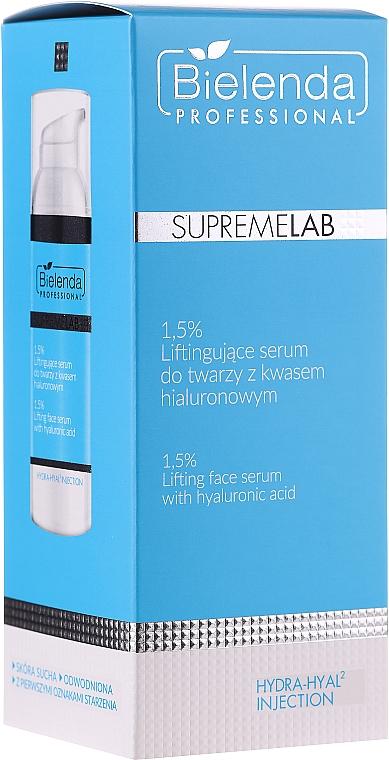 Лифтинг серум за лице с хиалуронова киселина - Bielenda Professional SupremeLab Hydra-Hyal2