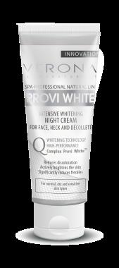 Интензивно избелващ нощен крем - Verona Laboratories Provi White Intensive Whitening Night Cream — снимка N1