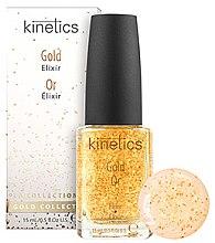Парфюми, Парфюмерия, козметика Ултра обогатен еликсир за нокти с златни частици - Kinetics Gold Elixir