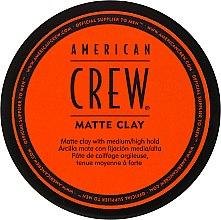 Парфюмерия и Козметика Матираща глина за коса - American Crew Matte Clay