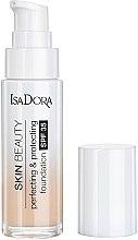 Парфюмерия и Козметика Изглаждащ фон дьо тен - Skin Beauty Perfecting & Protecting Foundation SPF 35