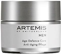 Парфюмерия и Козметика Комплексен крем против стареене за мъже - Artemis of Switzerland Men Age Defense Care