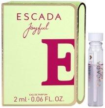 Парфюми, Парфюмерия, козметика Escada Joyful - Парфюмна вода (мостра)