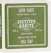 Парфюмерия и Козметика Сапун с масло от ший и аромат на върбинка - Institut Karite Lemon Verbena Shea Soap