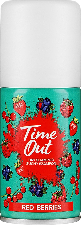 Сух шампоан за коса - Time Out Dry Shampoo Red Berries