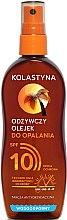 Парфюми, Парфюмерия, козметика Водоустойчиво масло-спрей за тен SPF 10 - Kolastyna