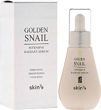 Парфюмерия и Козметика Избелващ серум за лице - Skin79 Golden Snail Intensive Radiant Serum