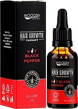 Парфюмерия и Козметика Серум за растеж на косата - Wooden Spoon Hair Growth Serum