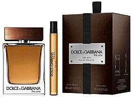 Парфюми, Парфюмерия, козметика Dolce & Gabbana The One for Men - Комплект (edt/100ml + edt/10ml)