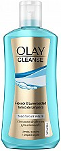 Парфюмерия и Козметика Почистващ тоник за лице за всеки тип кожа - Olay Cleanse Tonic Freshness & Brightness