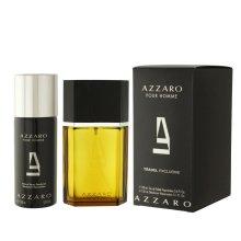 Парфюми, Парфюмерия, козметика Azzaro Pour Homme Travel - Комплект (edt/100ml + deo/150ml)