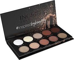 Парфюми, Парфюмерия, козметика Палитра сенки за очи - Ingrid Cosmetics Nude Matt & Glam Palette