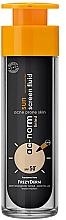 Парфюмерия и Козметика Слънцезащитен флуид за лице - Frezyderm Ac-Norm Active Sun Screen Tinted Fluid Spf50+