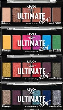 Палитра сенки за очи - NYX Professional Makeup Ultimate Edit Petite Shadow Palette