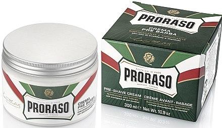 Крем преди бръснене с ментол и евкалипт - Proraso Green Pre Shaving Cream