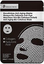 Парфюми, Парфюмерия, козметика Антистарееща маска за лице - Timeless Truth Anti-Aging Bio-Cellulose Mask