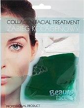 Парфюми, Парфюмерия, козметика Колагенова маска за лице с екстракт от краставица - Beauty Face Cucumber Extract Collagen Mask