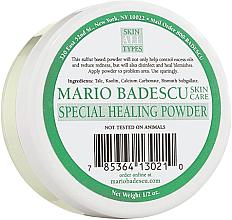 Парфюмерия и Козметика Специална лечебна пудра за лице - Mario Badescu Special Healing Powder