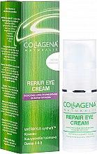 Парфюмерия и Козметика Околоочен крем против бръчки - Collagena Naturalis Repair Eye Cream