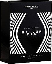 Парфюми, Парфюмерия, козметика Jeanne Arthes Silver Man - Тоалетна вода