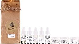 Парфюмерия и Козметика Комплект за лице за нормална и суха кожа - Shy Deer (емулсия/7ml + пилинг/7ml + тоник/7ml + еликсир/1.5ml + крем/2ml + крем/2х3ml)