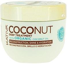 Парфюмерия и Козметика Възстановяваща маска за коса - Kativa Coconut Oil Mask