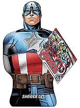 "Парфюми, Парфюмерия, козметика Душ гел ""Капитан Америка"" - Marvel Avengers Captain America Shower Gel"