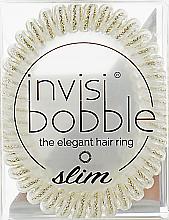 Парфюми, Парфюмерия, козметика Ластик за коса - Invisibobble Slim Stay Gold
