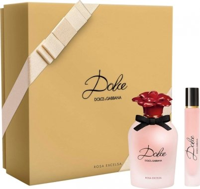 Dolce & Gabbana Dolce Rosa Excelsa - Комплект парфюмна вода (edp/30ml + edp/7.4ml) — снимка N1