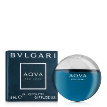 Парфюмерия и Козметика Bvlgari Aqva Pour Homme - Тоалетна вода ( мини )