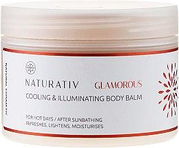 Парфюмерия и Козметика Балсам за тяло - Naturativ Cooling & Illuminating Body Balm