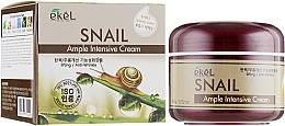 Парфюмерия и Козметика Крем за лице с екстракт от охлюв - Ekel Ample Intensive Cream Snail