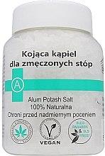 Парфюмерия и Козметика Успокояващи соли за уморени крака - Biomika