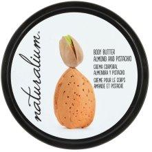 """Парфюмерия и Козметика Масло за тяло """"Бадеми и шам фъстък"""" - Naturalium Body Butter Almond And Pistachio"""