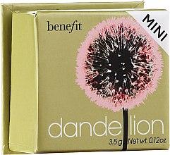 Парфюмерия и Козметика Руж за лице - Benefit Dandelion Blush Powder (мини)