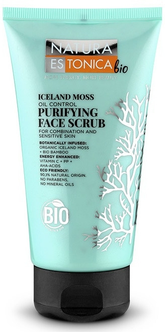 Скраб за лице с Исландски лишей - Natura Estonica Iceland Moss Face Scrub