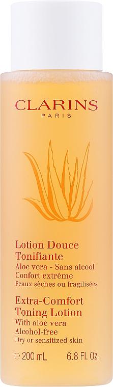 Тонизиращ лосион за лице - Clarins Extra-Comfort Toning Lotion — снимка N1