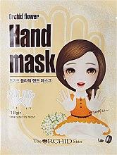 Парфюми, Парфюмерия, козметика Маска за ръце от плат - The Orchid Skin Orchid Flower Hand Mask Sheet