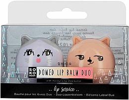 Парфюми, Парфюмерия, козметика Комплект балсами за устни - Soko Ready Lip Balm Duo With Moisturising Shea Butter (lip/balm/2x5.6g)