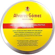 Парфюмерия и Козметика Alvarez Gomez Agua De Colonia Concentrada Crema de Karite Corporal - Крем за тяло