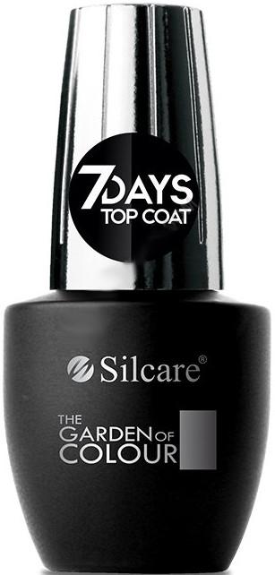 Топ лак - Silcare The Garden of Colour Top Coat 7days