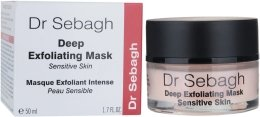 Парфюмерия и Козметика Маска за дълбока ексфолиация, за чувствителна кожа - Dr Sebagh Deep Exfoliating Mask